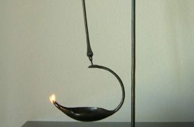 Special Design Wrought Iron Candle Holder