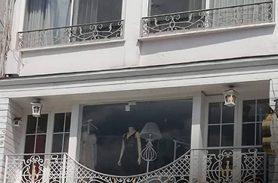 Şıklığın Temsilcisi Beyliss / Tarabya için hazırlanan Beyaz, Klasik Ferforje Balkon Korkuluğu