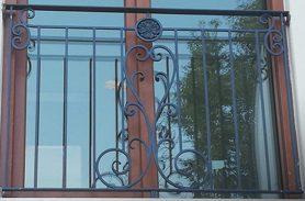 Fransız Balkon, Klasik Ferforje Balkon Korkuluğu