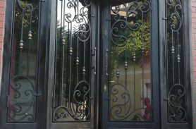 Wrought Iron Door Suitable for Apartment, Villa and Private Living Area