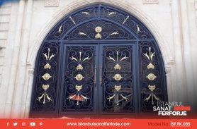 Ağrı Doğubeyazıt Köşk, Ferforje Kapı