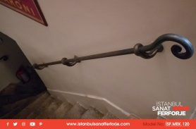 Nostalgia, Wrought Iron Stair Railing