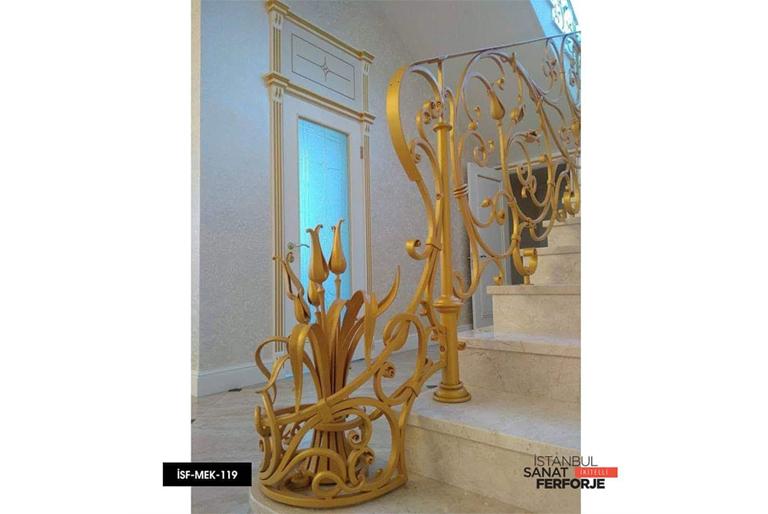 Gold, El İşçiliği, Ferforje Villa Merdiven Korkuluğu