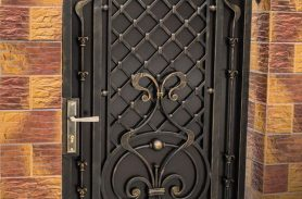 Tumbled, Villa Wrought Iron Garden Gate