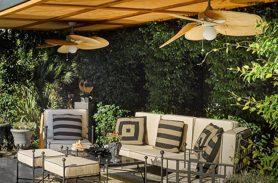 Black Color, Single, Wrought Iron Garden Sofa Set
