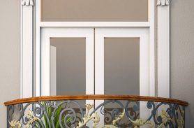 Gold İşleme, Fransız Ferforje Balkon Korkuluğu