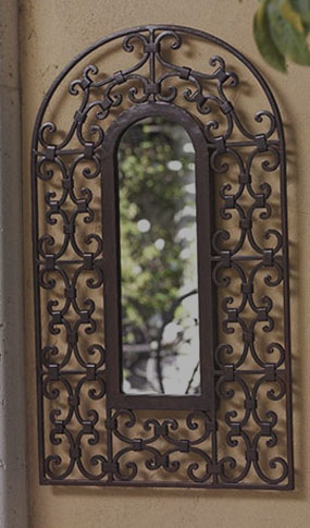 Ferforje Ayna Çerçevesi