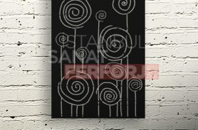 Special Design, Laser Cut, Decorative Wrought Iron Table
