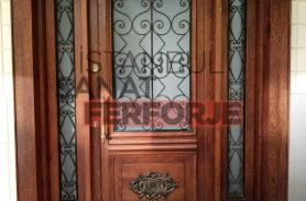 Wood Detail Wrought Iron Gate Models