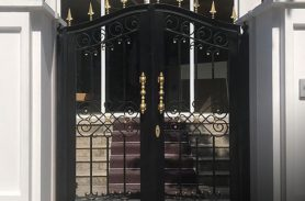 Parliamentary Assembly of the Black Sea Economic Cooperation, PABSEC / Wrought Iron Garden Gate
