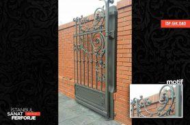 Şık, El İşçiliği, Ferforje Garaj Kapısı