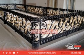 Wrought Iron Stair Railings That Improve The Quality Of The Space