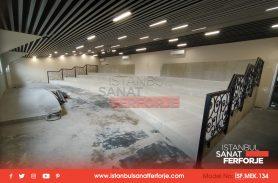 İSF Yeni Galeri Kalıbı Ferforje Merdiven Korkulukları