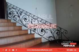 Stylish Design, Comfortable Wrought Iron Stair Railing