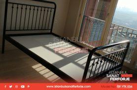 Sturdy Stylish Wrought Iron Bed