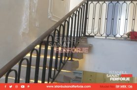 Sturdy and Stylish Designed Wrought Iron Stair Railing