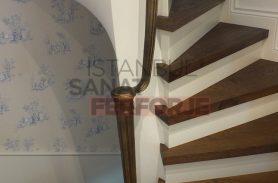 Sağlam ve Şık Tasarımlı Ferforje Merdiven korkuluğu
