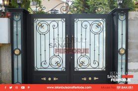 Ferforje Bahçe Kapısı Özel Tasarım