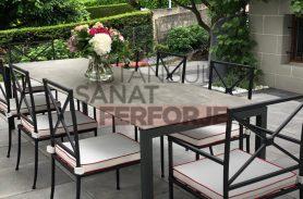 Özel Tasarım Ferforje Masa ve Sandalye
